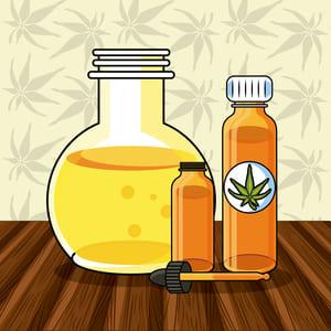 farmaceutisk olja